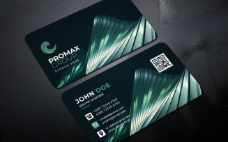 Abstract Creative Business Card - Corporate Identity Template