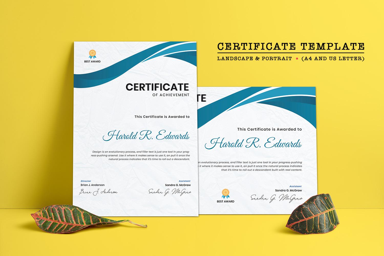 Appreciation Template de Certificado №125936