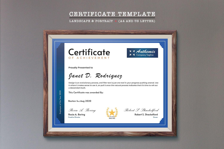 Corporate Sertifka #125947