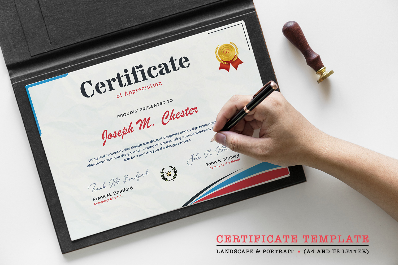 Professional Certificate Template #125941