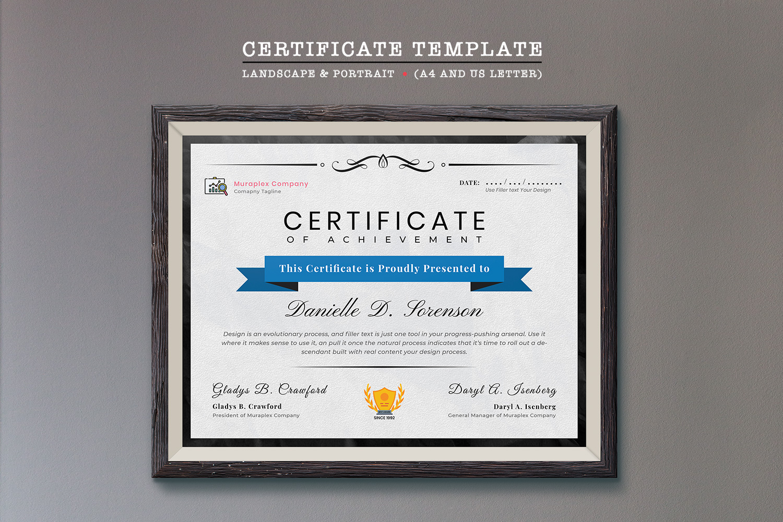Professional Certificate Template