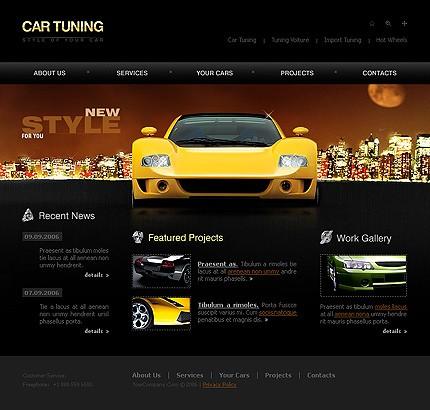 Realizare site reprezentanta auto