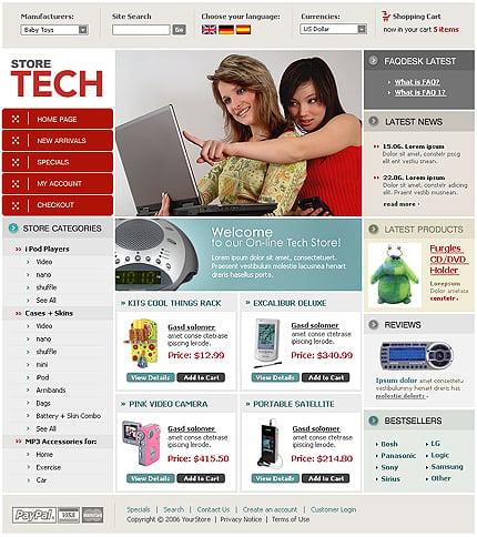 Шаблон интернет-магазина CRE Loaded (12652)