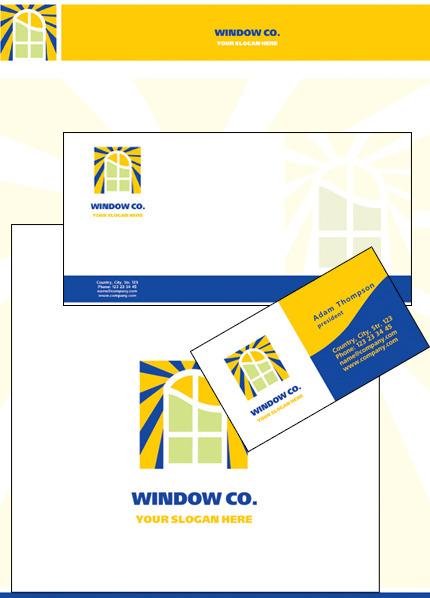 Interior & Furniture Corporate Identity Template Vector Corporate Identity preview