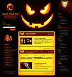 WordPress: Society & Culture Low Budget WordPress Themes Halloween Templates Halloween Templates