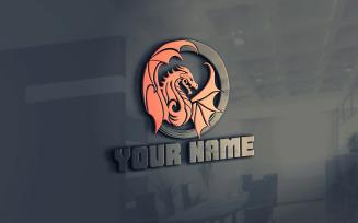 DRAGON CREATIVE Logo Template