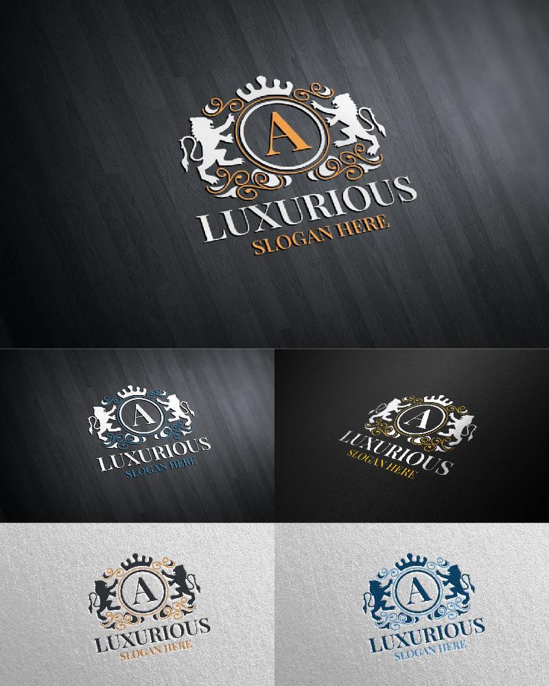 """Tema di Loghi #126096 """"Luxurious Royal 16"""""""