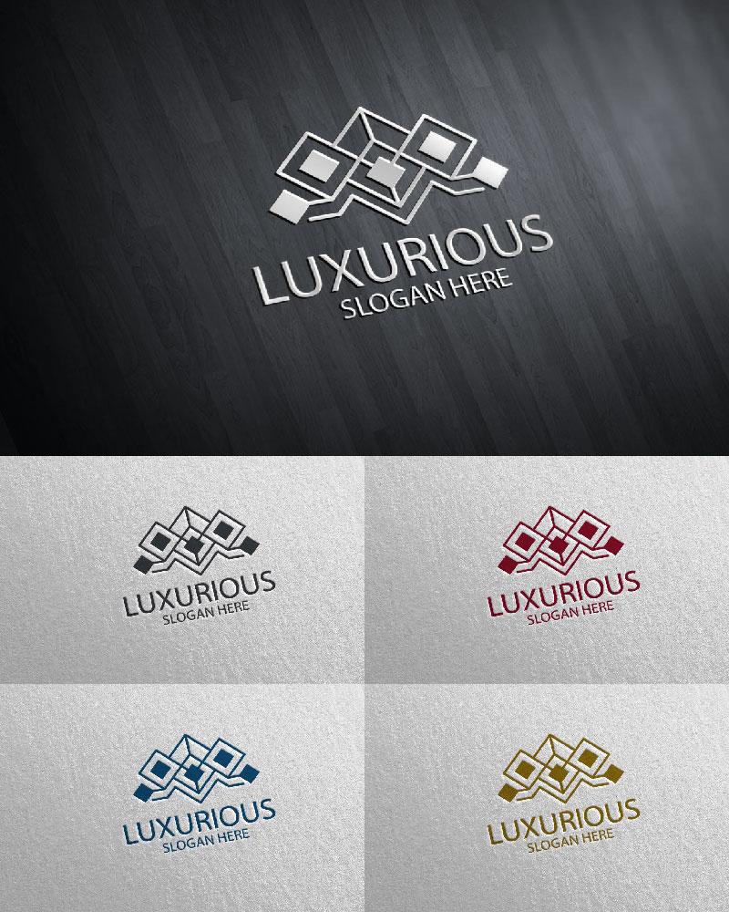 Luxurious Royal 23 Logó sablon 126109