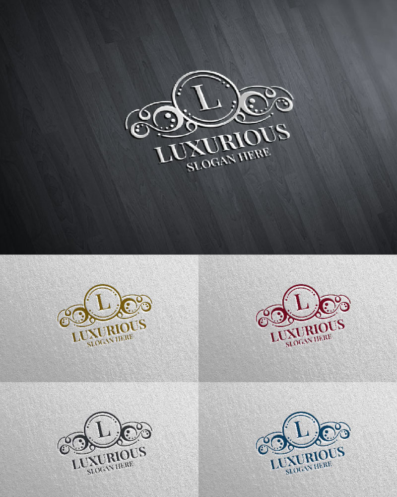 "Modello di Loghi #126182 ""Luxurious Royal 2"""