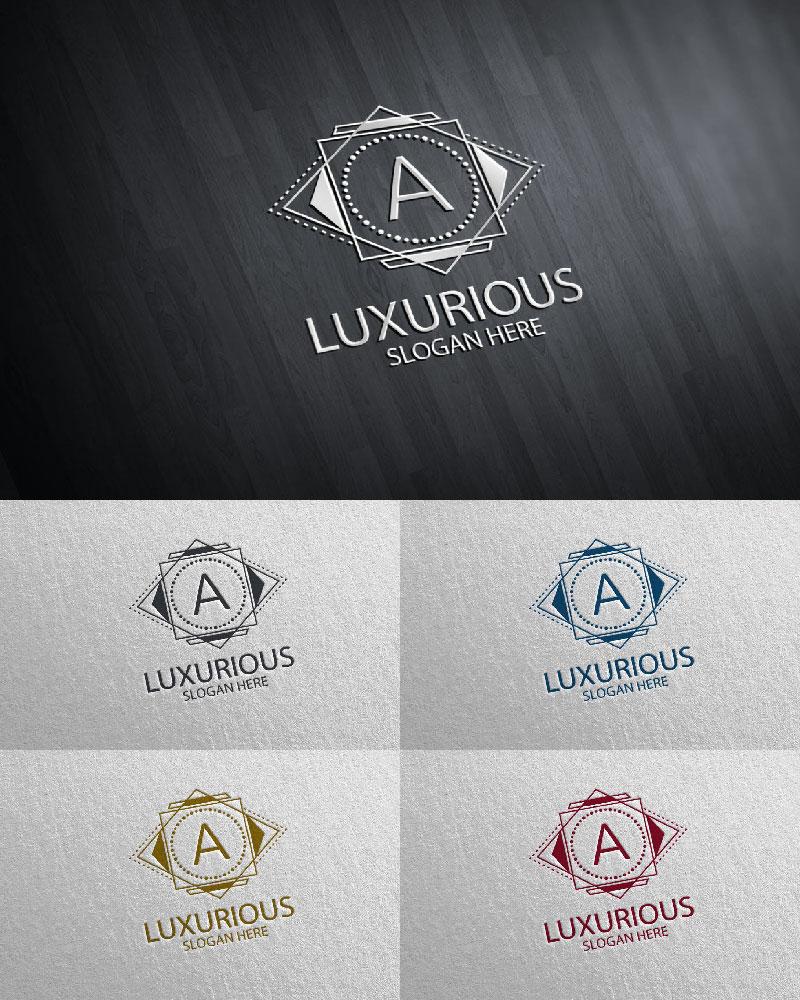 """Plantilla De Logotipo """"Luxurious Royal 21"""" #126110"""