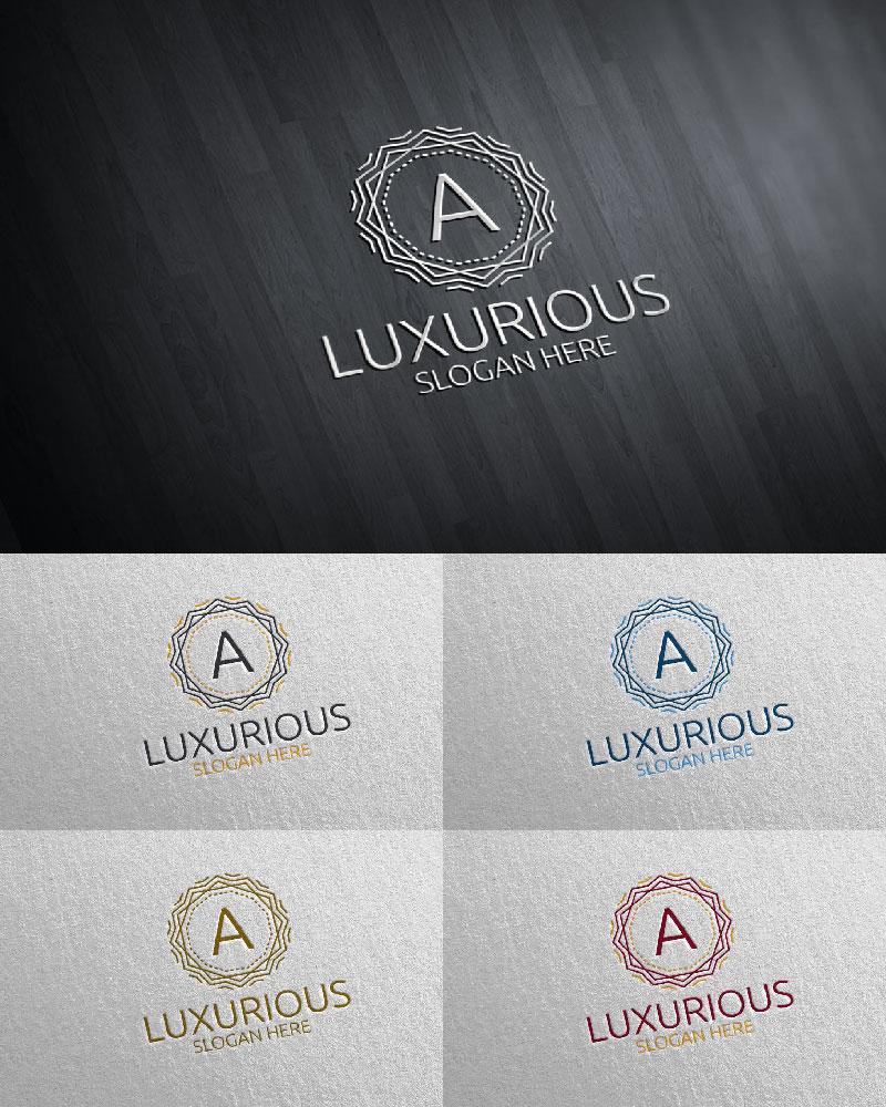 """Plantilla De Logotipo """"Luxurious Royal 22"""" #126106"""