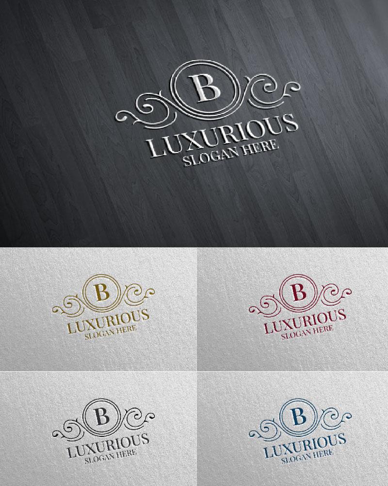 """Plantilla De Logotipo """"Luxurious Royal 4"""" #126183"""