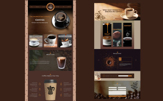 Cafe Coffee House - Coffee Shop PSD