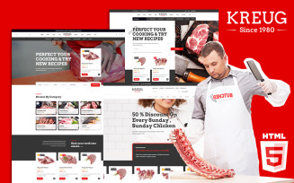 Kreug | Meat Farm & Poultry Store