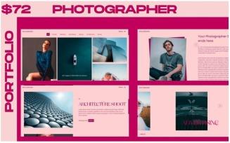 WINK - Photographer Portfolio Multipurpose