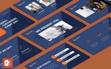 Marketing Agency Presentation PowerPoint Template