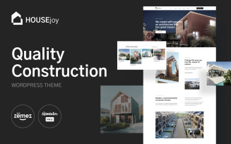 HouseJoy - Building Construction Template