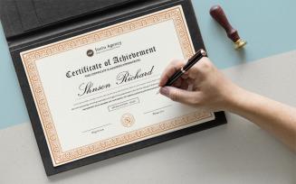 Elegant Design Certificate Template