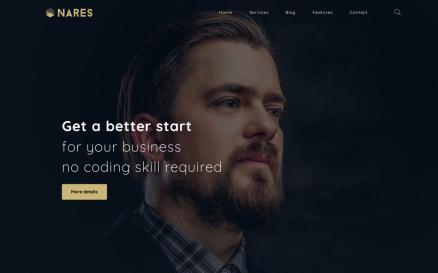 Nares - Multipurpose Business Services with WordPress Elementor Theme WordPress Theme