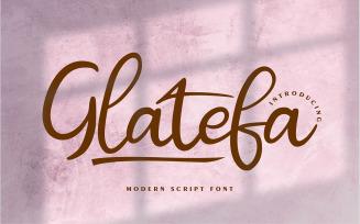 Glatefa | Modern Script