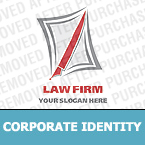 Law Corporate Identity Template 12742