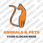 Animals & Pets Logo  Template 12753