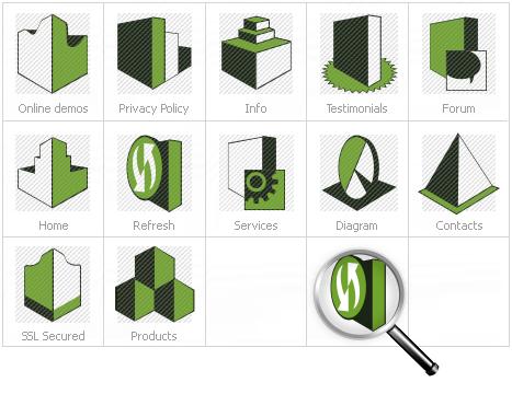 Icon Set Template 12777 Screenshots