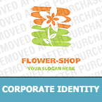 Flowers Corporate Identity Template 12834