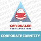 Cars Corporate Identity Template 12836