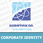 Science Corporate Identity Template 12838