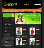 Vista previa de la plantilla Halloween #12992