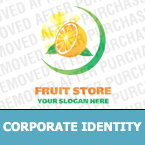 Agriculture Corporate Identity Template 13036