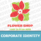 Flowers Corporate Identity Template 13039