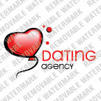 Dating Logo  Template 13054