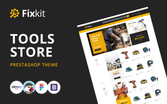 Fixkit - Tools Store Online Template