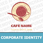 Cafe & Restaurant Corporate Identity Template 13172