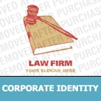 Law Corporate Identity Template 13178