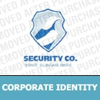 Security Corporate Identity Template 13179
