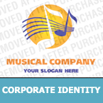 Music Corporate Identity Template 13211