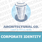 Architecture Corporate Identity Template 13214