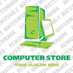 Computers Logo  Template 13298