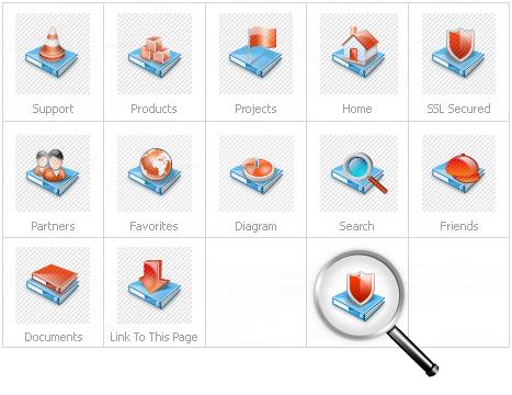 Icon Set Template 13336 Screenshots