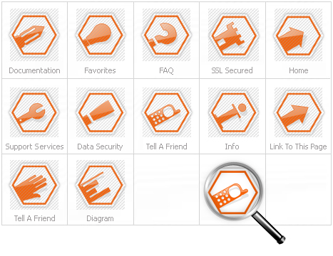 Icon Set Template 13342 Screenshots