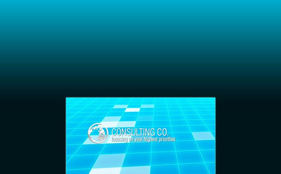 Szablon Intro Flash #13364 na temat: usługi doradcze New Screenshots BIG