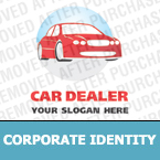 Cars Corporate Identity Template 13377