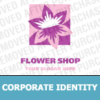 Flowers Corporate Identity Template 13378