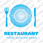 Cafe & Restaurant Logo  Template 13384