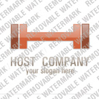 Web Hosting Logo  Template 13471