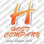 Web Hosting Logo  Template 13474