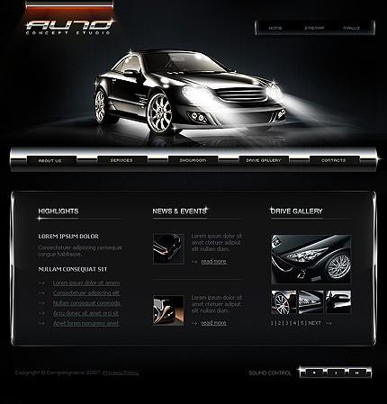 programe web design site auto